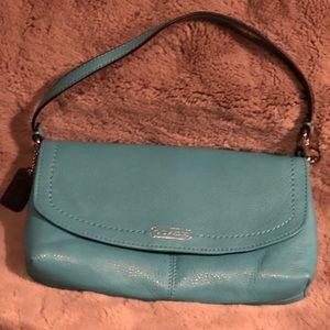 Coach purse | Leather Flap